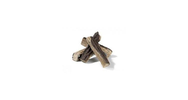 Busteni de lemn pentru arzatorul incastrabil - o bucata imagine 2021 kivi.ro
