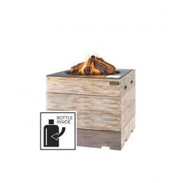Nice&Nasty - Masa cocon patrata cu arzator negru
