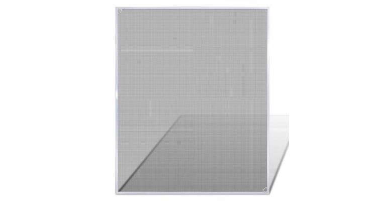 Plasă țânțari pentru fereastră 100 x 120 cm, alb imagine 2021 kivi.ro