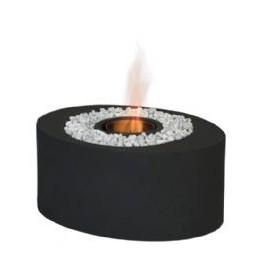 Masa mini-cocon ovala, neagra, bioetanol