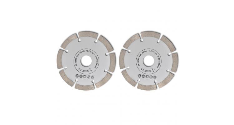 Disc diamantat pentru fierăstrău circular 125 mm 2 buc imagine 2021 kivi.ro