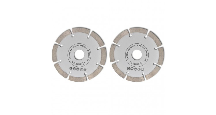 Disc diamantat pentru fierăstrău circular 180 mm 2 buc poza kivi.ro