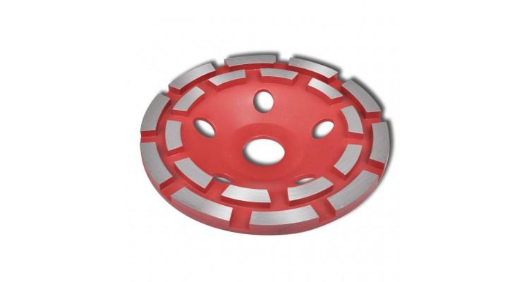 Disc diamantat dublu tip ceașcă pentru șlefuire beton 125 mm imagine 2021 kivi.ro