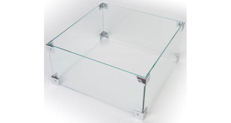 Kit ecrane de sticla pentru mese cocon dreptunghiulare si patrate