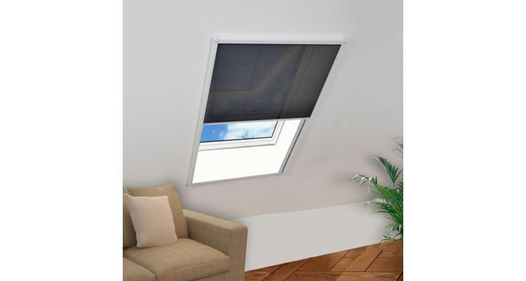 Plasă fereastră pentru insecte 160 x 80 cm poza kivi.ro