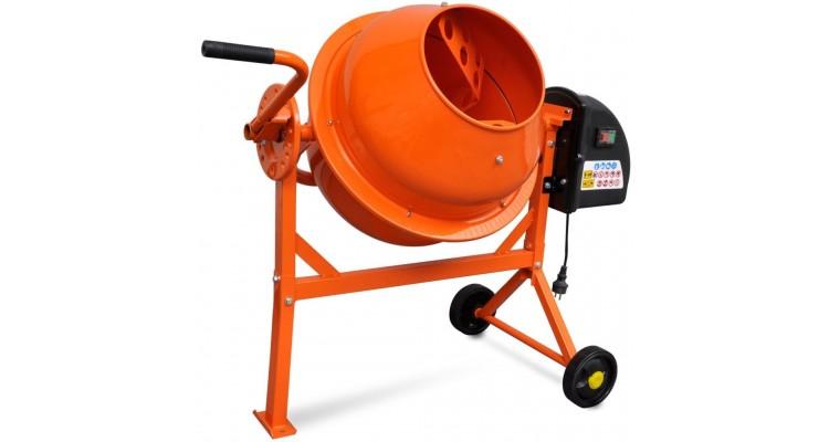 Betonieră electrica 63 l 220 w oțel portocaliu imagine 2021 kivi.ro