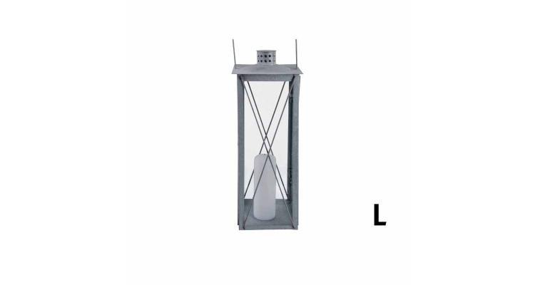 Lampa zincata antichizata 50cm