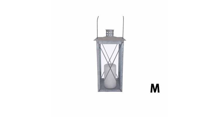 Lampa zincata antichizata 35cm