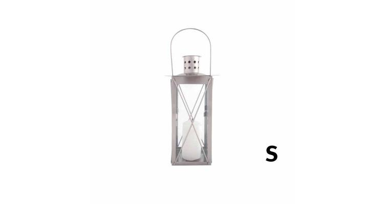Lampa din otel inoxidabil 25cm imagine 2021 kivi.ro