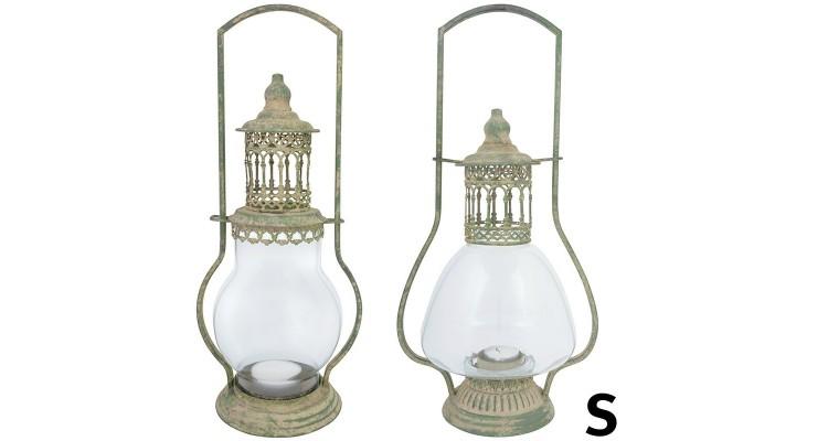 Lampa din metal antichizat, S