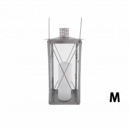 Lampa din otel inoxidabil 35cm