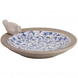Fantana pentru pasari din ceramica antichizata Regana