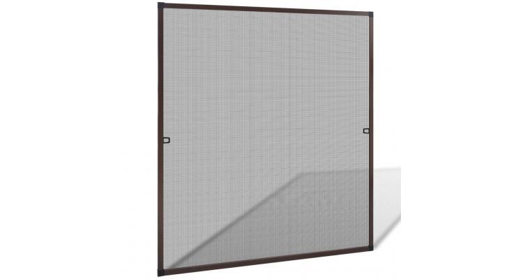 Plasă maro pentru ferestre împotriva insectelor 120 x 140 cm imagine 2021 kivi.ro