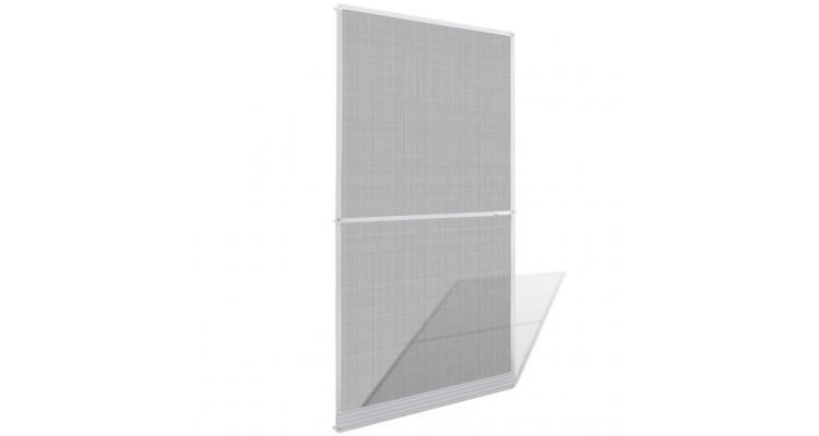 Plasă albă cu balamale pentru uși împotriva insectelor 120 x 240 cm imagine 2021 kivi.ro