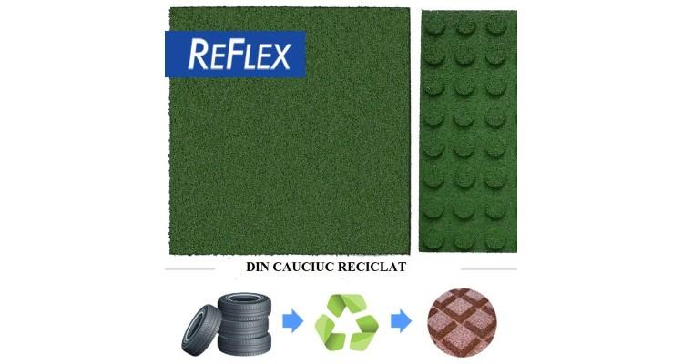 Pavele cauciuc Reflex 100x100x5 cm poza kivi.ro