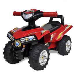 ATV pentru copii cu sunet si lumina, rosu