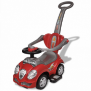 Masina de jucarie pentru copii, cu impingere, rosu