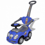 Masina de jucarie pentru copii, cu impingere, albastru