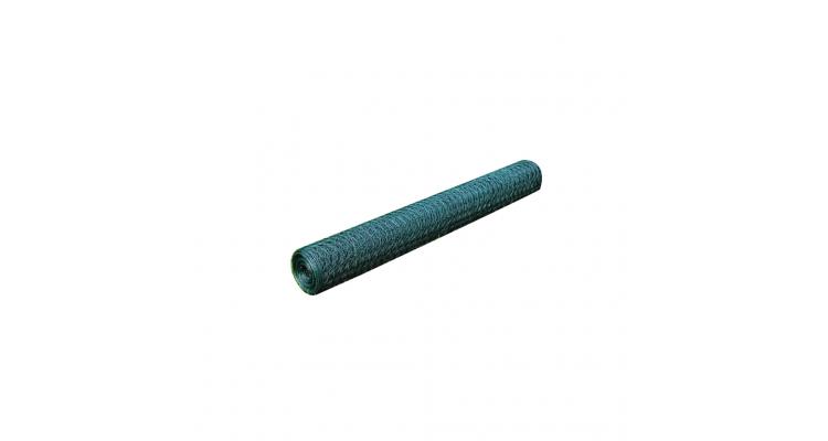 Plasa de gard impletita 25 m, cu ochi hexagonal 0,9 mm