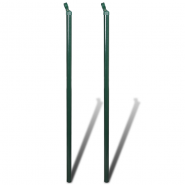 Stalpi fixare gard 2 buc 150 cm