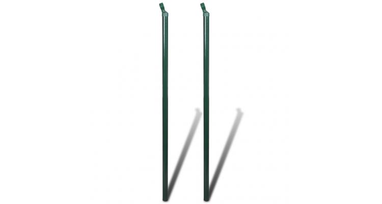 Stalpi fixare gard 2 buc 200 cm imagine 2021 kivi.ro