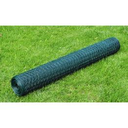 Plasa gard cu izolatie PVC 50 cm x 25 m, grosime 1,1 mm