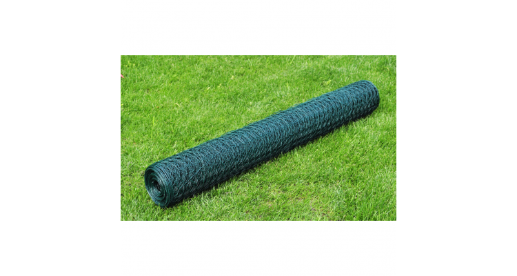 Plasa gard cu izolatie PVC 75 cm x 25 m, grosime 1,1 mm