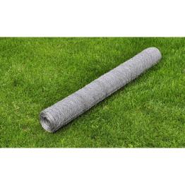 Plasa gard 50 cm x 25 m otel galvanizat grosime 0,75 mm