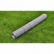 Plasa gard 75 cm x 25 m otel galvanizat, grosime 0,75 mm