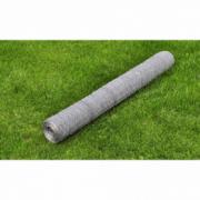 Plasa gard otel galvanizat 75 cm x 25 m, grosime 0,75 mm
