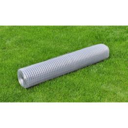 Plasa de gard impletita galvanizata 25 m/grosime 0,9 mm