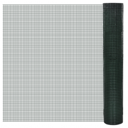 Plasa gard cu izolatie PVC 1 m x 10 m, ochi 12 x 12 mm