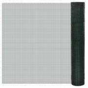 Plasa gard cu izolatie PVC 1 m x 25 m ochi 19 x 19 mm