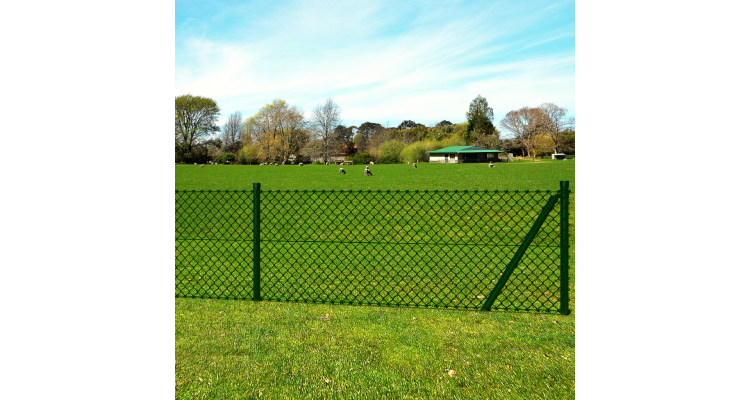 Plasa Gard Fixare Stalpi Gard Imagine