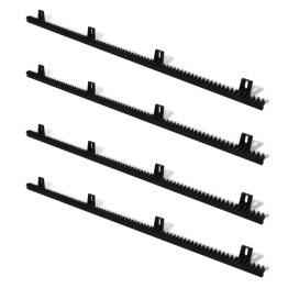 Set 4 cremaliere din nailon pentru porti glisante