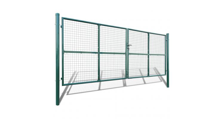 Gard din plasa pentru gradina 415 x 200 cm/400 x 150 cm