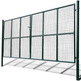 Poarta gradina cu plasa 415 x 225 cm / 400 x 175 cm