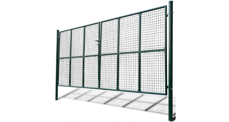 Poarta cu plasa pentru gradina 415 x 250 cm / 400 x 200 cm