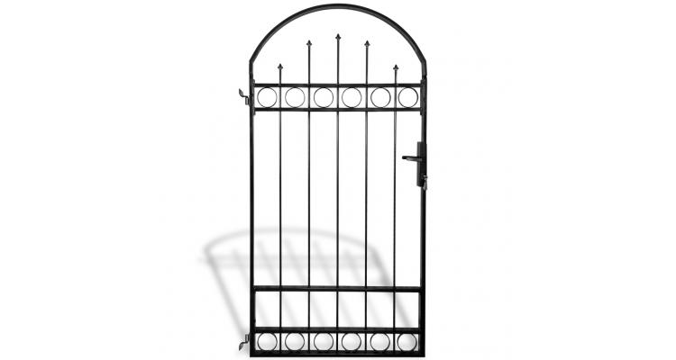 Poarta arcuita pentru gradina (individuala) 100 x 200 cm