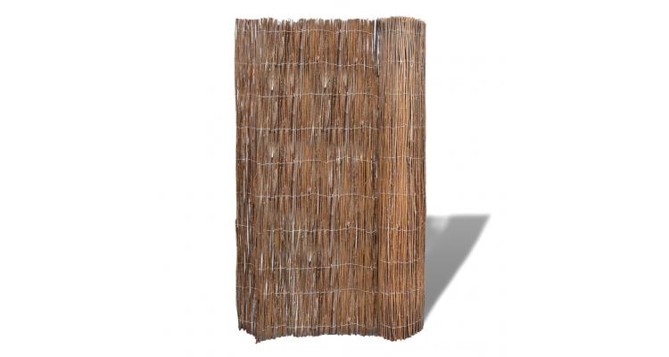 Gard din ramuri de salcie pentru gradina 300 x 150 cm imagine 2021 kivi.ro