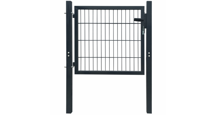 Poarta Gard Simpla Gri Antracit - 16680