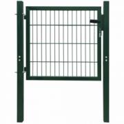 Poarta 2D pentru gard (simpla) 106 x 130 cm, verde