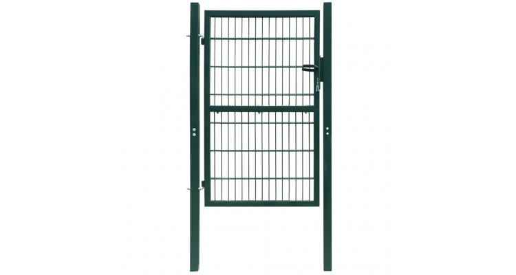 Poarta 2D pentru gard (simpla) 106 x 230 cm, verde poza kivi.ro