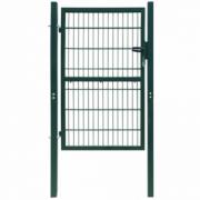 Poarta 2D pentru gard (simpla) 106 x 230 cm, verde