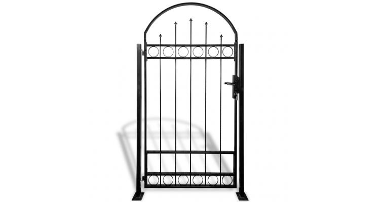 Poarta pentru gradina cu arcada si 2 stalpi, 100 x 200 cm