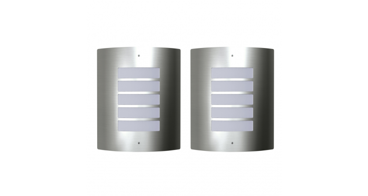 Lampa de exterior 60 W 2 buc
