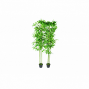 Set 2 Plante Bambus Artificiale Decoratiune Casa 190 cm