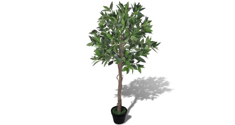Arbore de dafin artificial cu ghiveci 120 cm