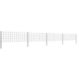 Gard 50 m din Sarma Galvanizata 80/6/30