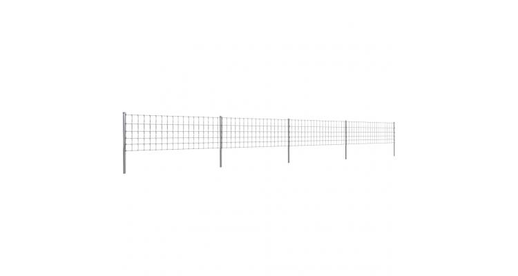Gard 50 m din Sarma Galvanizata 80/6/15